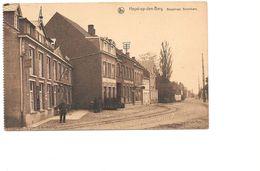 Heist Op De Berg, Bergstraat Bovenkant, Hotel, Met Postzegel Koning Albert, 1926. - Heist-op-den-Berg