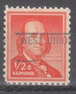 USA Precancel Vorausentwertung Preo, Locals Ohio, West Union 841 - Vereinigte Staaten
