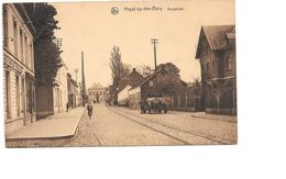 Heist Op De Berg, Bergstraat, Oude Fiets, Oude Kar, Postzegel Koning Albert, 1926 - Heist-op-den-Berg
