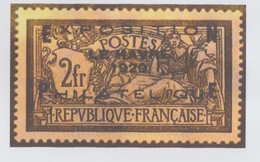 France : PLAQUE OR - RARE !!! Y.&T. N° 257A. - PLAQUE EN OR 24 CARATS - Neuf Sous Blister - - Neufs