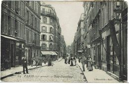 CPA - 75 - PARIS XVII -Rue Gauthey  - - Arrondissement: 17