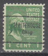 USA Precancel Vorausentwertung Preo, Locals Ohio, Whitehouse 704 - Vereinigte Staaten