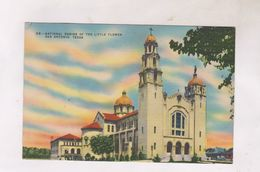CPA SAN ANTONIO,  NATIONAL SHRINE OF THE LTTLE FLOWER - San Antonio