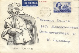 AUS+ Australien 1963 Mi 331 Abel Tasman (UNIQUE / UNIKAT) - 1952-65 Elizabeth II : Ed. Pré-décimales