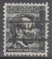 USA Precancel Vorausentwertung Preo, Locals Ohio, Willard 828 - Vereinigte Staaten