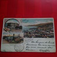 UN SALUTO DA TRIESTE GRUSS AUS TRIEST 1896 - Trieste