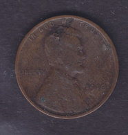 United States 1910 1 CENT Abraham Lincoln - 1909-1958: Lincoln, Wheat Ears Reverse
