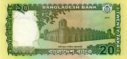 Bangladesh P.55 20 Taka 2014 Unc - Bangladesh