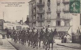 Villeneuve Saint Georges : Souvenir De Grève - Journée Du 30 Juillet 1908 - Villeneuve Saint Georges