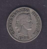 Switzerland 1906 10 Rappen Confederato Helvetica - Schweiz