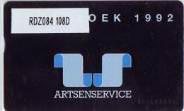 Telefoonkaart  LANDIS&GYR NEDERLAND * RDZ.084  108D * ARTSENSERVICE * Pays Bas * TK *  ONGEBRUIKT * MINT - Nederland
