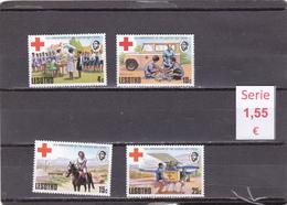 Lesotho  -  Serie Completa Nueva**  Cruz Roja  -  Red Cross  -  3/2629 - Lesotho (1966-...)