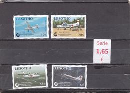 Lesotho  -  Serie Completa Nueva**  Cruz Roja  -  Red Cross (aviación) -  3/2630 - Lesotho (1966-...)