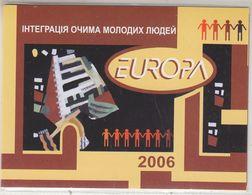 Europa Cept 2006 Ukraine Booklet ** Mnh (WI64) ROCK BOTTOM - 2006