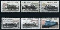 "Monaco YT 752 à 757 "" Liaison Ferroviaire Avec Nice "" 1968 Neuf** - Nuovi"