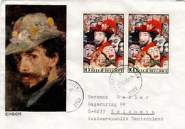 B+ Belgien 1974 Mi 1763 James Ensor (UNIKAT) - Belgique