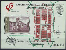 Spanien Espana Spain 1991 - Briefmarkenausstellung - MiNr Block 39 (2984) - 1931-Aujourd'hui: II. République - ....Juan Carlos I