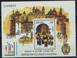 Spanien Espana Spain 1993 - Briefmarkenausstellung - MiNr Block 53 (3106) - 1931-Aujourd'hui: II. République - ....Juan Carlos I