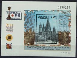 Spanien Espana Spain 1998 - Briefmarkenausstellung - MiNr Block 72 (3395) - 1931-Aujourd'hui: II. République - ....Juan Carlos I