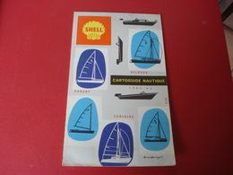 1965-66 SHELL CARTOGUIDE NAUTIQUE - Tourisme