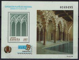 Spanien Espana Spain 1999 - Briefmarkenausstellung - MiNr Block 74 (3455) - 1931-Aujourd'hui: II. République - ....Juan Carlos I