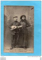 Reise Um Die Welt Von Belgischenchepaar-Tour Du Monde à Pied- Chantant Avec Mandoline Deux époux Belges- Mandoline- 1913 - Belgium