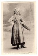 PLOUGASTEL-DAOULAS (29) - Petite Marchande De Fraises De Plougastel-Daoulas - COSTUME - Ed. Collection Villard, Quimper - Plougastel-Daoulas