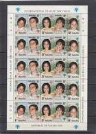 Nauru - YEAR OF THE CHILD 1979 MNH - Nauru