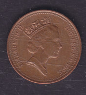Great Britain 1995 1 PENNY Queen Elizabeth II. - 1 Penny & 1 New Penny