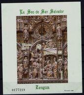 Spanien Espana Spain 1998 - Kathedrale, San Salvador, Saragossa - MiNr Block 73 (3429/3430) - 1931-Aujourd'hui: II. République - ....Juan Carlos I