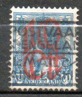 PAYS-BAS  10c Sur 12 1\2c  Bleu 1923 N° 115 - 1891-1948 (Wilhelmine)