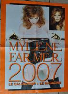 POSTER  En 2007 /  DE MYLENE FARMER / LE CALENDRIER ET LE MAGAZINE - Plakate & Poster