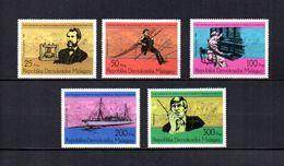 Madagascar  1976 .-  Y&T  Nº  585/589   (  *  Sin Goma  ) - Madagascar (1960-...)