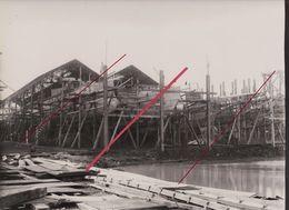76 LE HAVRE -- Ateliers Chantiers Augustin Normand _ Constructions Contre Torpilleur Russe _(Sous-Marin)_Photo Originale - Profesiones
