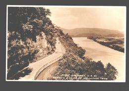 Tennessee - Dixie Highway U.S. 41 Across Lookout Mountain - Photo Card Single Back - Etats-Unis