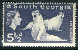 GEORGIE DU SUD ( POSTE ) : Y&T N°  15  TIMBRE  NEUF  SANS  TRACE  DE  CHARNIERE , A  VOIR . - Géorgie Du Sud