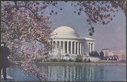Thomas Jefferson Memorial, Washington DC, 1950 - Uberman Novelty Co Postcard - Washington DC