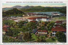 PANAMA - Canal - Vista De Pajaro De Balboa -   (103211) - Panama