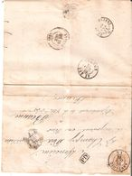 L. T. N° 33 Obl. DC.33 D'ANNEVOIE Du 24/10/1878 V/BEAUNE(FRANCE) Au Dos DC FRANCE EST IV - 1869-1883 Leopold II