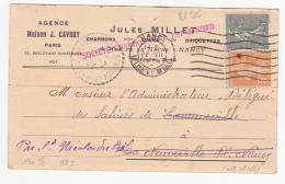 Agence Maison J. Cavroy, Paris - Jules Millet - Société Charbonnière Est & Nord - 1924 - 1921-1960: Période Moderne