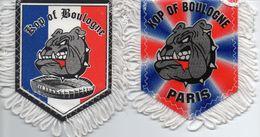 PARIS SG = Lot De 2 Fanions Du Kop Of BOULOGNE - Habillement, Souvenirs & Autres