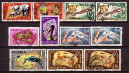Nigeria - BIRDS / ANIMALS 1965/72 - Nigeria (1961-...)