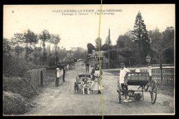 Saint Pierre Le Viger: Passage à Niveau,  (voitures à Chiens) - France