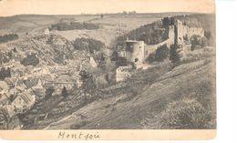Elsenborn (camp) - CPA - Environs Du Camp D'Elsenborn - Ruines à Montjoie - Elsenborn (Kamp)