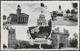 Multiview, Lancaster, Lancashire, 1962 - Postcard - England