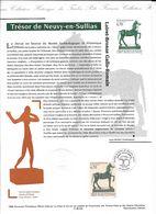 Doc Fdc+ Gravure 8/6/96 , N°3014, Cheval De Bronze Gallo-romain, Trésor De Neuvy En Sullias - Documentos Del Correo
