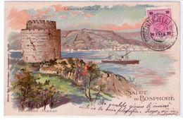 Costantinopoli,bella Cartolina,francobollo E Annullo.VEDERE Foto-Per Trani- - Oriente Austriaco