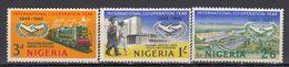 Nigeria - CO-OPERATION YEAR / TRAIN 1965 MNH - Nigeria (1961-...)