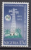 Nigeria - TELECOM 1965 MNH - Nigeria (1961-...)