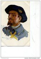 SOLDAT DUPUIS NOS POILUS N ° 8 HARTMANS KOFWEILER 1911 - Künstlerkarten
